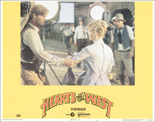 HEARTS OF THE WEST MOVIE CAST - LOBBY CARD UNSIGNED (USA) 1975