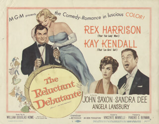 RELUCTANT DEBUTANTE MOVIE CAST - LOBBY CARD UNSIGNED (USA) 1958