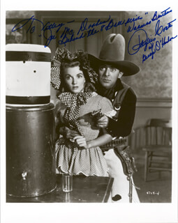 PHYLLIS COATES - AUTOGRAPHED INSCRIBED PHOTOGRAPH