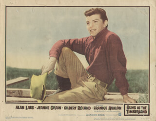 GUNS OF THE TIMBERLANDS MOVIE CAST - LOBBY CARD UNSIGNED (USA) 1960