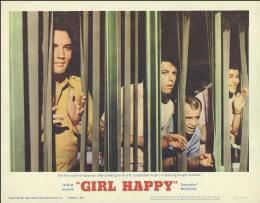 GIRL HAPPY MOVIE CAST - LOBBY CARD UNSIGNED (USA) 1965