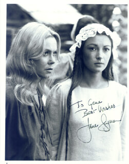 JANE SEYMOUR - AUTOGRAPHED INSCRIBED PHOTOGRAPH
