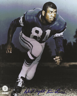 RICHARD NIGHT TRAIN LANE - AUTOGRAPHED SIGNED PHOTOGRAPH