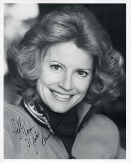 JULIE SOMMARS - AUTOGRAPHED SIGNED PHOTOGRAPH