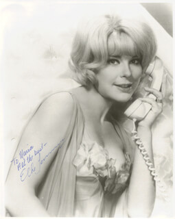 ELKE SOMMER - AUTOGRAPHED INSCRIBED PHOTOGRAPH