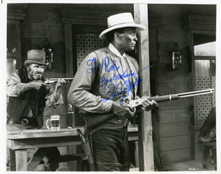 WOODY STRODE - AUTOGRAPHED INSCRIBED PHOTOGRAPH