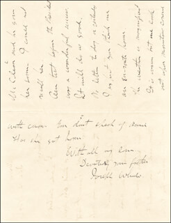 MAJOR GENERAL JOSEPH FIGHTIN' JOE WHEELER - AUTOGRAPH LETTER SIGNED 12/12/1904