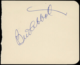 Autographs: ABBOTT & COSTELLO (LOU COSTELLO) - COLLECTION WITH ABBOTT & COSTELLO (BUD ABBOTT)