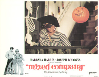 MIXED COMPANY MOVIE CAST - LOBBY CARD UNSIGNED (USA) 1974