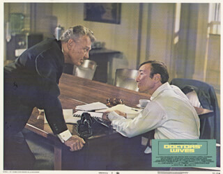 DOCTORS'' WIVES MOVIE CAST - LOBBY CARD UNSIGNED (USA) 1971