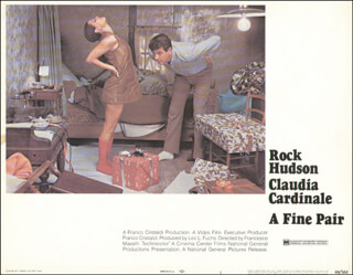A FINE PAIR MOVIE CAST - LOBBY CARD UNSIGNED (USA) 1969