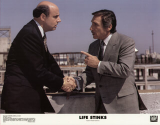 LIFE STINKS MOVIE CAST - LOBBY CARD UNSIGNED (USA) 1991