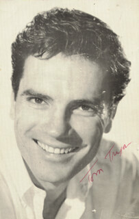 TOM TRYON - AUTOGRAPHED INSCRIBED PHOTOGRAPH
