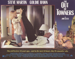 OUT OF TOWNERS MOVIE CAST - LOBBY CARD UNSIGNED (USA) 1999