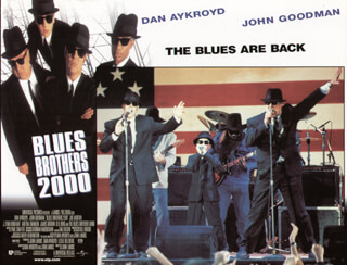 BLUES BROTHERS 2000 MOVIE CAST - LOBBY CARD UNSIGNED (USA) 1997