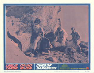 GUNS OF DARKNESS MOVIE CAST - LOBBY CARD UNSIGNED (USA) 1962