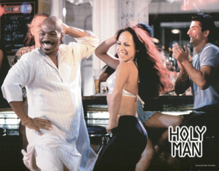 HOLY MAN MOVIE CAST - LOBBY CARD UNSIGNED (USA) 1998