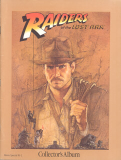 INDIANA JONES - RAIDERS OF THE LOST ARK - PRESS KIT UNSIGNED