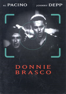 DONNIE BRASCO MOVIE CAST - PRESS KIT UNSIGNED