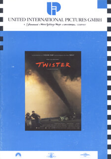 TWISTER MOVIE CAST - PRESS KIT UNSIGNED