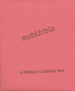 SUBURBIA MOVIE CAST - PRESS KIT UNSIGNED