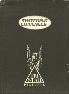 SWITCHING CHANNELS MOVIE CAST - PRESS KIT UNSIGNED