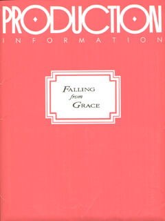 FALLING FROM GRACE MOVIE CAST - PRESS KIT UNSIGNED