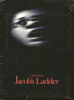 JACOB''S LADDER MOVIE CAST - PRESS KIT UNSIGNED