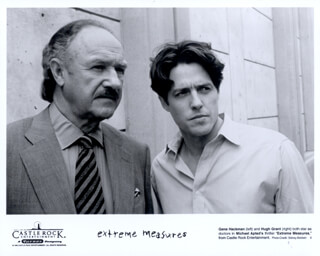 EXTREME MEASURES MOVIE CAST - LOBBY CARD UNSIGNED (USA) CIRCA 1996