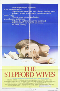 STEPFORD WIVES MOVIE CAST - POSTER UNSIGNED CIRCA 1975