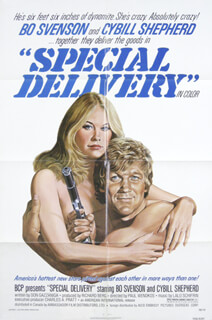 SPECIAL DELIVERY MOVIE CAST - POSTER UNSIGNED CIRCA 1976
