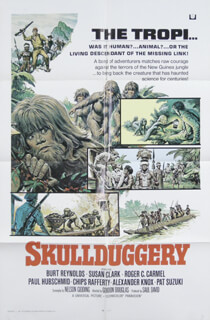 SKULLDUGGERY - POSTER UNSIGNED CIRCA 1970