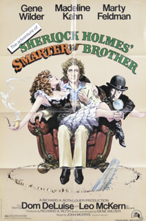 THE ADVENTURES OF SHERLOCK HOLMES' SMARTER BROTHER - POSTER UNSIGNED CIRCA 1975