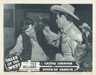 TALES OF THE WEST MOVIE CAST - LOBBY CARD UNSIGNED (USA)