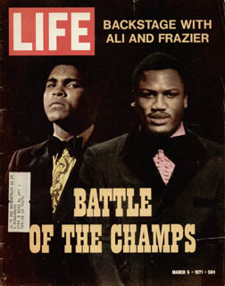 MUHAMMAD THE GREATEST ALI - MAGAZINE UNSIGNED
