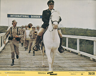 VIVA MAX - LOBBY CARD UNSIGNED (USA) 1969