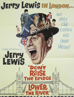 DON''T RAISE THE BRIDGE, LOWER THE RIVER - ORIGINAL ONE SHEET UNSIGNED 1968