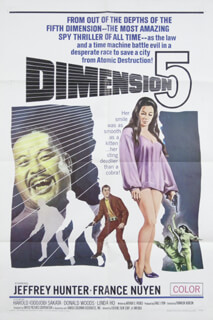 DIMENSION 5 MOVIE CAST - ORIGINAL ONE SHEET UNSIGNED