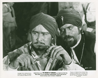 THE BRIGAND OF KANDAHAR MOVIE CAST - LOBBY CARD UNSIGNED (USA)