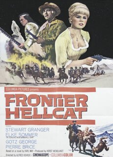 FRONTIER HELLCAT MOVIE CAST - ORIGINAL ONE SHEET UNSIGNED