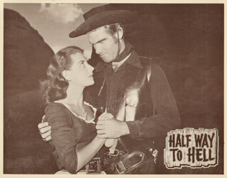 HALF WAY TO HELL MOVIE CAST - LOBBY CARD UNSIGNED (USA)