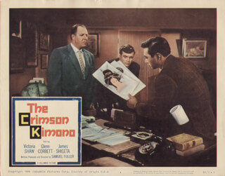 CRIMSON KIMONO MOVIE CAST - LOBBY CARD UNSIGNED (USA)