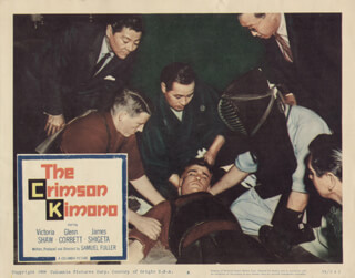 CRIMSON KIMONO MOVIE CAST - LOBBY CARD UNSIGNED (USA) 1959