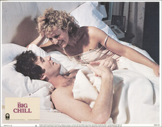 THE BIG CHILL MOVIE CAST - LOBBY CARD UNSIGNED (USA) 1983