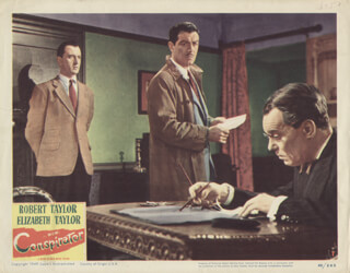 CONSPIRATOR MOVIE CAST - LOBBY CARD UNSIGNED (USA) 1949