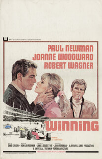 WINNING MOVIE CAST - LOBBY CARD UNSIGNED (USA) 1969