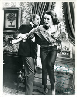 FRITZ WEAVER - AUTOGRAPHED INSCRIBED PHOTOGRAPH