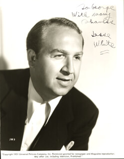 JESSE WHITE - AUTOGRAPHED INSCRIBED PHOTOGRAPH
