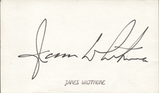 JAMES WHITMORE - AUTOGRAPH