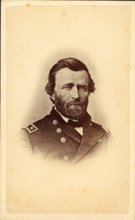 PRESIDENT ULYSSES S. GRANT - PHOTOGRAPH UNSIGNED